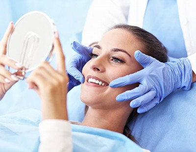 woman smiling after getting dental bonding in Aspen Hill